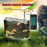 Portable 38W Sound Wireless Remote Control Amplifier Teaching Speaker FM Radio USB Hunting Decoys Loud Speaker Bird Caller MP3