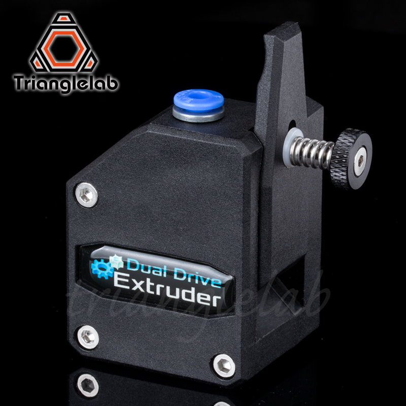 US $30 26 15% OFF|trianglelab Bowden Extruder BMG extruder Cloned Btech  Dual Drive Extruder for 3d printer High performance for 3D printer MK8-in  3D