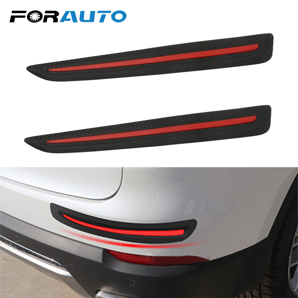 Car Stickers Lovely 1 Pair Possbay Rubber Anti-collision Car Bumper Protector Guard Corner Strip Sticker Auto Body Protector Bar Decoration Easy To Use Automobiles & Motorcycles