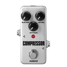 KOKKO FCP2 мини компрессор педаль портативный гитары педаль эффектов высокое качество гитары запчасти блок эффектов для гитары