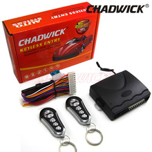 Universal Vehicle Car Door Lock Locking Keyless Entry System Remote Central Kit 12Volt good quality CHADWICK 608 8142