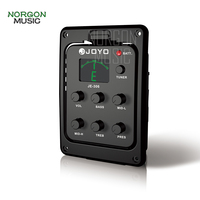 Volume Bass Middle & Treble Guitar Parts and Accessories Joyo JE 306 Acoustic Guitar 5 Band Preamp EQ Pickup