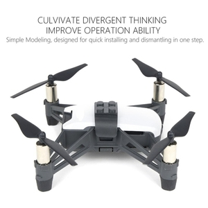 Image 4 - Adaptador de Dron de Instalación rápida para Lego Toys Rc Quadcopter accesorios para Tello interfaz Universal para juguetes Lego