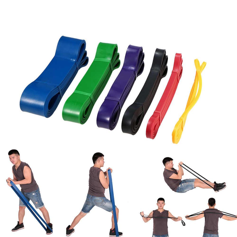 Odporność na joga opaski gumowe sprzęt Fitness elastyczny pasek lateksowe odporność na rozciąganie opaski trening Crossfit podciągnąć Expander
