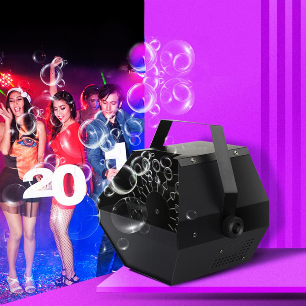Professional 30W Bubble Machine Automatic Bubble Machine With High Output For Wedding Party Stage Effect