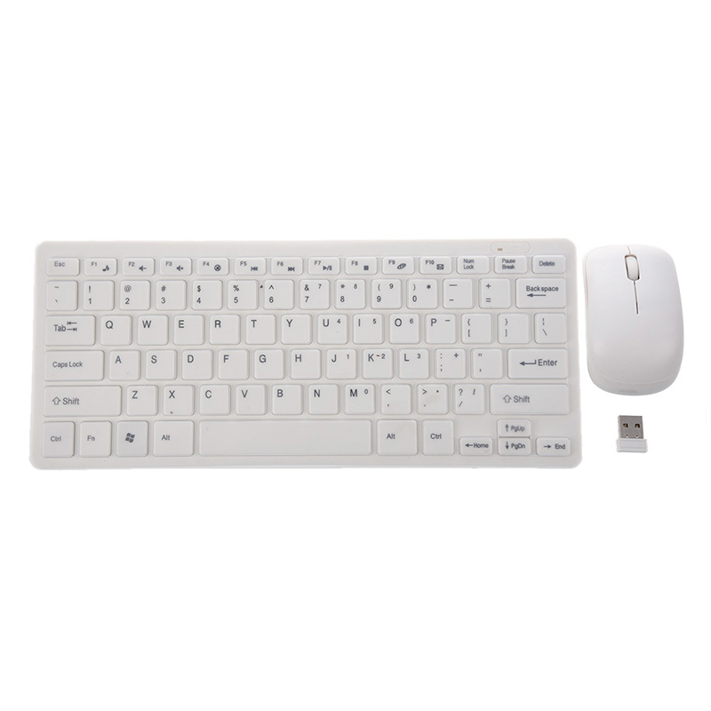 Mouse & Keyboards Computer & Office 2.4ghz Wireless Portable Keyboard And Mouse Pc Set Qwerty