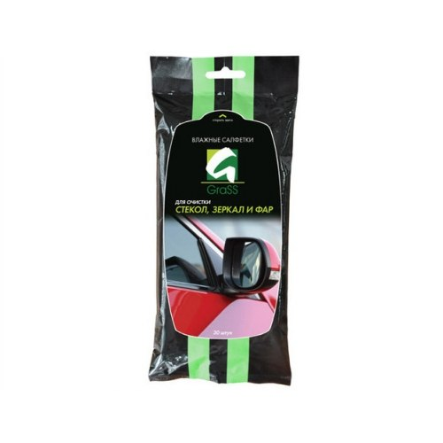 Wipes Wet Grass IT-0313 for cleaning glasses, mirrors and headlight салфетка grass profi it 0327