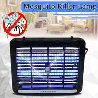 2W LED Night Light 220V UV Electronic Mosquito Killer Lamp Indoor Room Insect Killing Repeller Anti Pest Bug Fly Zapper Trap