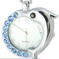 2018 Luxury Brand Time Story Women's Necklace Quartz Analog Rhinestone Anti Clockwise Watches Women Waterproof Watch
