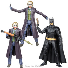цены Heath Ledger The joker PVC Action Figure Dark Knight Batman Figurine Movable Joints Collectible Doll Kids Toys for Children Boys