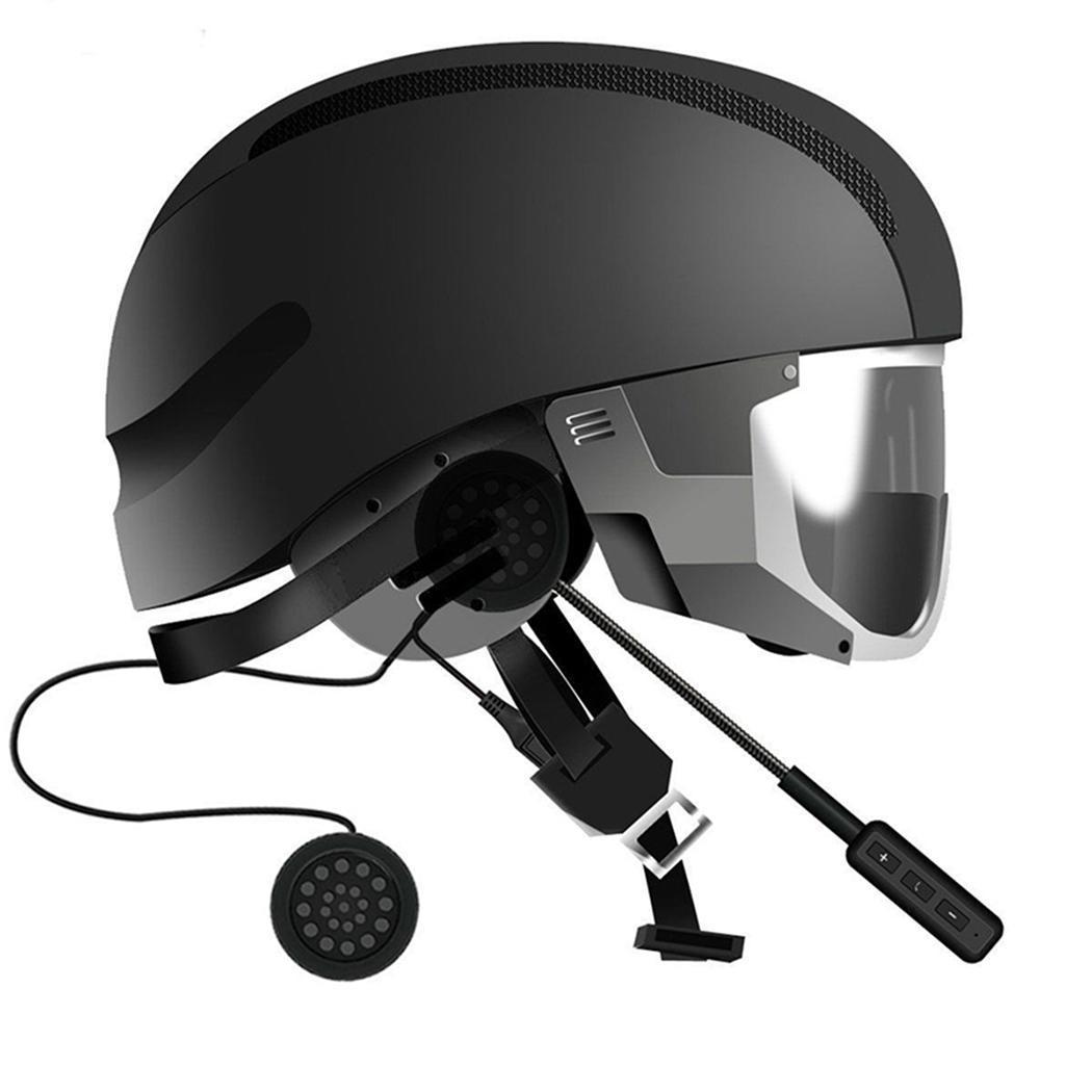Wireless Moto Helmet Bluetooth Earphone Headset Motorcycle Helmet Intercom Riding Hands Free Headset With Gooseneck Microphone