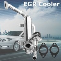 EGR охладитель выхлопных газов рециркуляционный клапан для Volkswagen Audi Seat 03G131512AD алюминиевый сплав серебро Запчасти для авто