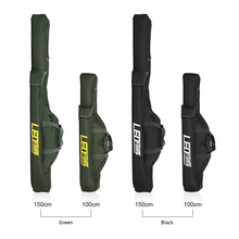 100cm/150cm Fishing Bag Backpack Foldable Fishing Rod Bag Re