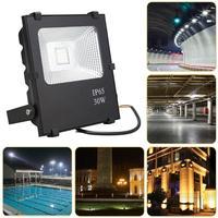 30W RGB LED Flood Light Outdoor Reflector Spotlight Floodlight IP65 Waterproof Garden Lawn Lamp Remote Control RGB Lighting