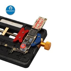 Image 5 - Telefone móvel ferramenta de reparo solda placa mãe pcb titular gabarito fixação com ic localização para iphone mainboard repair