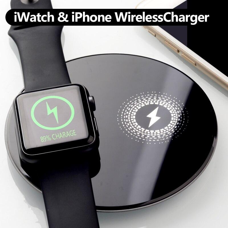 VEEAII Qi inalámbrico cargador de carga inalámbrica para Samsung S9 S8 S7 para apple watch cargador de tableta amortiguador Tech accesorio beige Rojo Negro compruebe Tartan tableta amortiguador 4for iPhone8 X para xiaomi