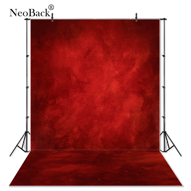 Thin Vinyl Misty Red Dark Abstract Photography Backdrop Red Backgrounds Photo Studio Professional Portrait Photo Backdrops