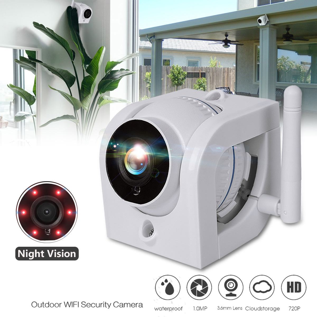 2019 IP Camera Wifi 720P ONVIF Wireless Wired P2P CCTV Outdoor Camera With MiscroSD Card Slot Max 64G Support Amazon Web Service2019 IP Camera Wifi 720P ONVIF Wireless Wired P2P CCTV Outdoor Camera With MiscroSD Card Slot Max 64G Support Amazon Web Service