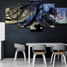 New 5 Piece HD Print Venom Marvel Comics Poster Cuadros Decoracion Paintings on Canvas Wall Art for Home Decorations Decor