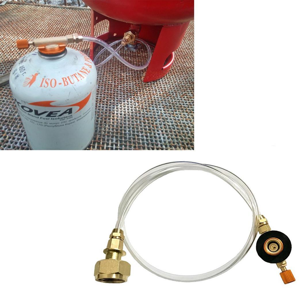 Gas Refill Adapter Propane Refill Adapter Flat Gas As Picture Tank Home, Outdoor Inflation Valve Stove
