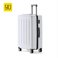 Xiaomi 90FUN 2428PC Rolling Luggage with Lock Spinner Business Trip Lightweight High Strength Carry On Suitcase Travel Luggage
