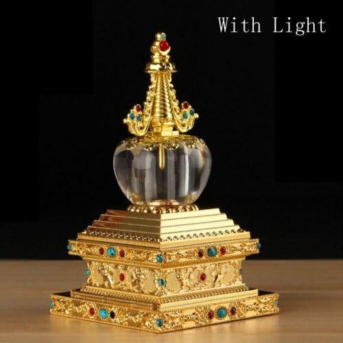 New Design Neon Buddhism Buddhist Sakyamuni Relic Buddha  Dagoba Tower Stupa Pagoda