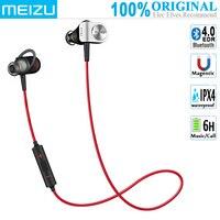 MEIZU EP51 Bluetooth Беспроводной наушники спортивные (BT4.0 + EDR, Hi-Fi, IPX4 из водонепроницаемого материала, Шум отменить, провод Управление с микрофоном)