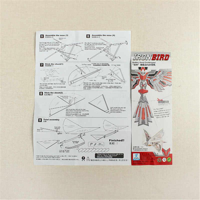 DIY Montage Flattern Flügel Flug Modell Nachahmung Vögel Flugzeug Eeducational geschenke Kinder