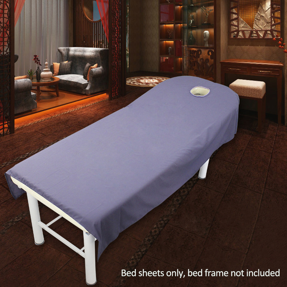 Uxradg Salon Bed Sheets Spa Massage Treatment Table Bed