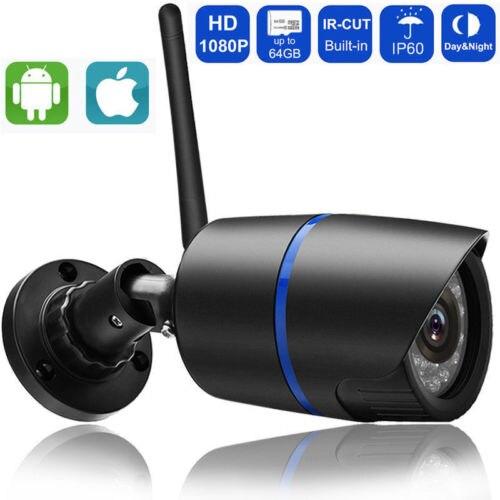 360°-video-kamera Drahtlose 1080 P/720 P Hd Wifi Ip Netzwerk Kamera Cctv Outdoor Sicherheit Ir Nacht Video Kamera