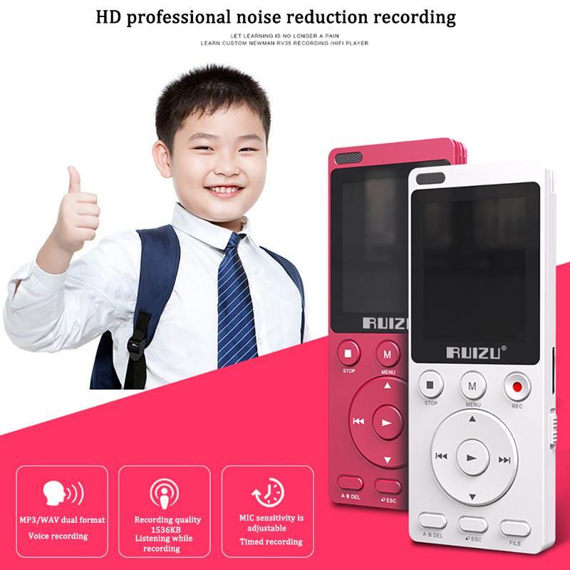 K11 Mp4 Englisch Hören Player Wiederholbare Shift Lernen Maschine Student Recorder Multifunktions Mp3 Bereitstellung Von Annehmlichkeiten FüR Die Menschen; Das Leben FüR Die BevöLkerung Einfacher Machen Tragbares Audio & Video