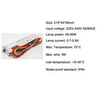 55-95 W Uv Entkeimungslampe Ballast Electronique UV Keimtötende Rohr Gleichrichter