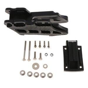 Image 1 - Guía/protector de cadena trasera para motocicleta, Pieza de plástico negra, para DirtBike CRF KLX KDX KXF RM RMZ DRZ YZ YZF WRF Rub Block