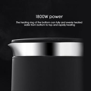VIOMI V-SK152B 1.5L Elektrische Wasserkocher Intelligente Thermostat Anti-verbrühungen Haushalt 304 Edelstahl Elektrische Wasserkocher 1800W