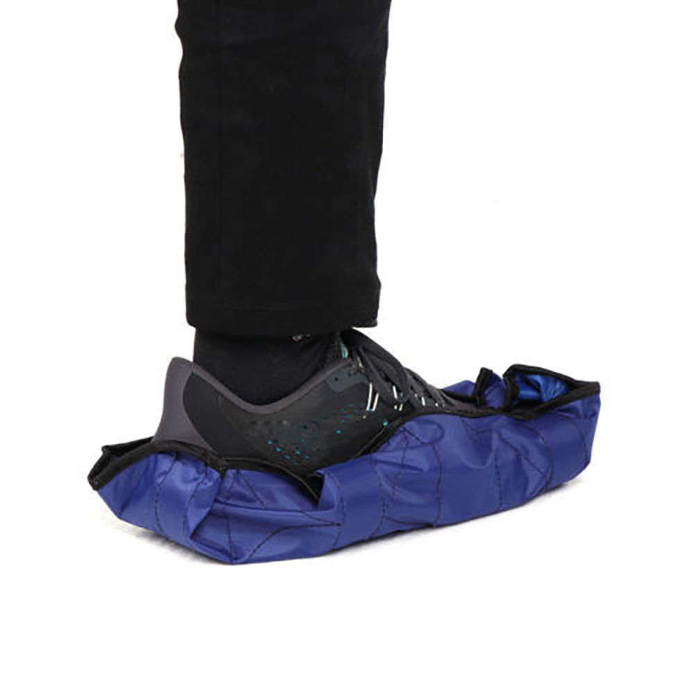 1Pair One Step Hand Free Sock Shoe Covers Durable Portable Automatic Shoe Covers 4 Colors in Shoe Covers from Home Garden