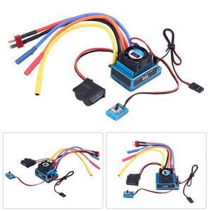 Image 5 - 3650 3900KV 브러시리스 모터 및 방수 60A/120A 브러시리스 ESC 전기 속도 컨트롤러 콤보 세트 1/10 RC 자동차 액세서리