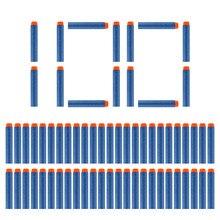100 pièces fléchettes pour Nerf solide dur tête 7.2cm recharge fléchettes jouet pistolet balles pour Nerf série blaster noël enfant enfants cadeau