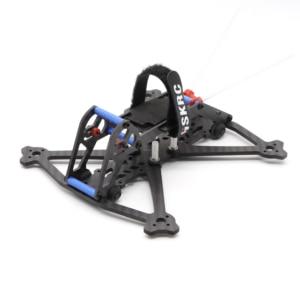 Image 3 - HSKRC Acrobrat 163 163mm 3 inç Mini drone iskeleti kiti desteği 3030 3045 pervane/Runcam bölünmüş Mini kamera