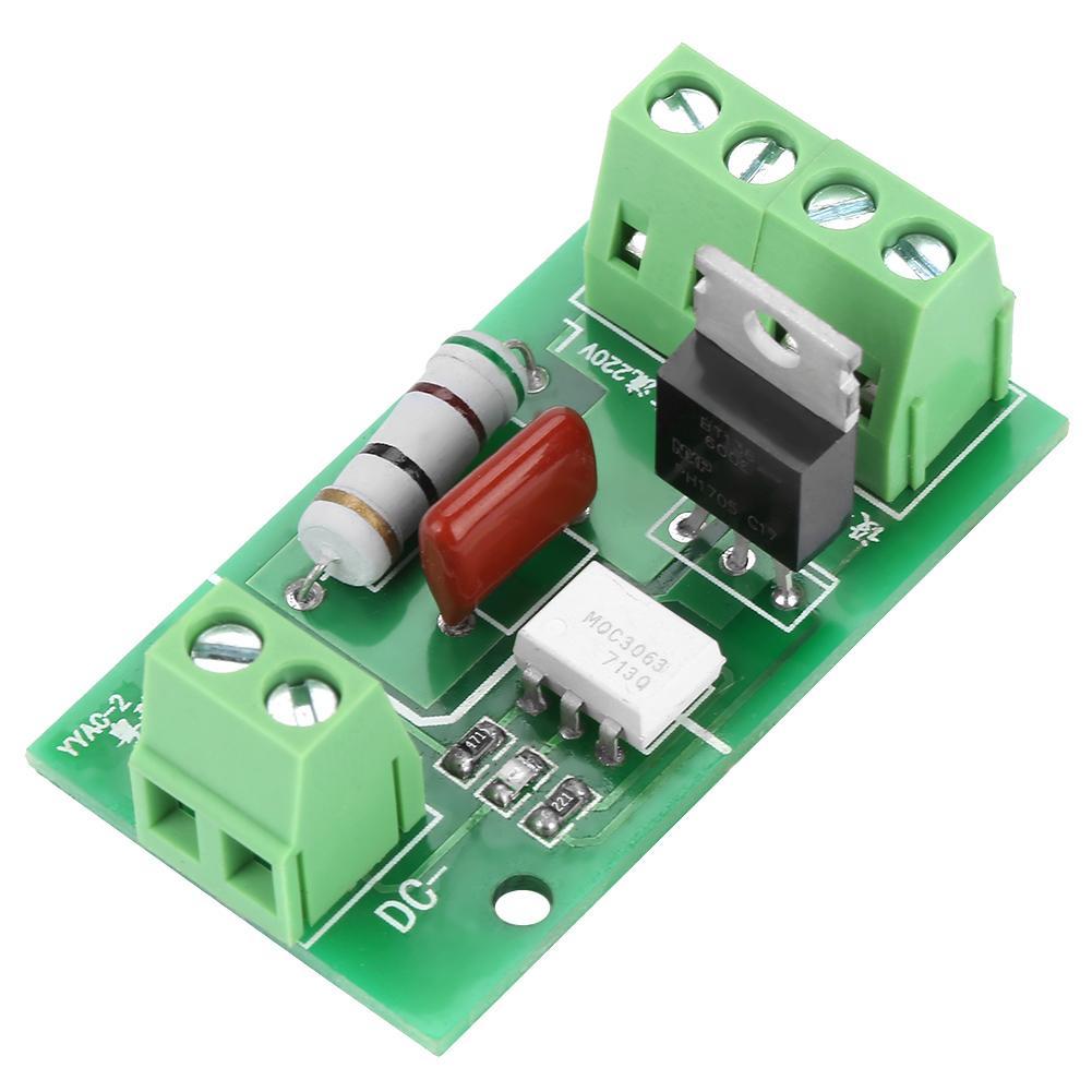 YYAC-2 SCR Module Thyristor Control Board Trigger Switch DC Control AC 220V Optocoupler Isolation Professional
