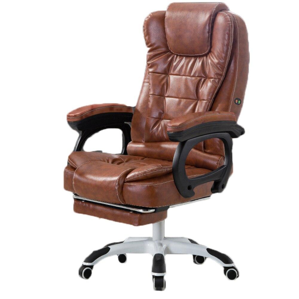 Stool Biurowy Leather Chair Taburete Fotel Poltrona Escritorio Sillon Cadeira Silla Bureau Gaming Ergonomic Cadir Gamer Computer ARj354L