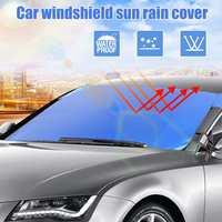 Evrensel araç ön camı Kapağı Otomobil Güneşlik Kalkanı Cam Güneşlik Kapak Yaz Ön Pencere Camı Kapağı|Ön Cam Güneşlikleri|   -