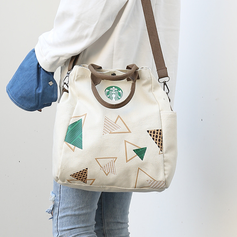 Anderi New Summer Women Canvas bohemian style strip Shoulder Beach Bag Female Casual Tote Shopping Big Bag floral Messenger Bags 4