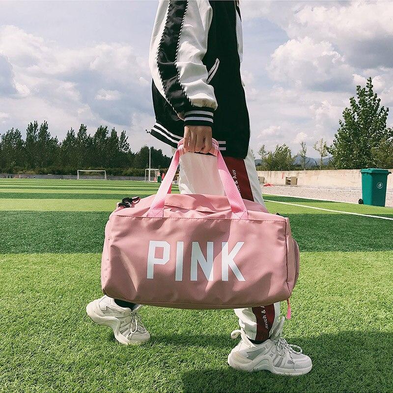 Gym Bags For Fitness Yoga Bags Women Travel Sport Handbag Crossbody Waterproof Training Sports Bags Shoes Storage Sac De Sport