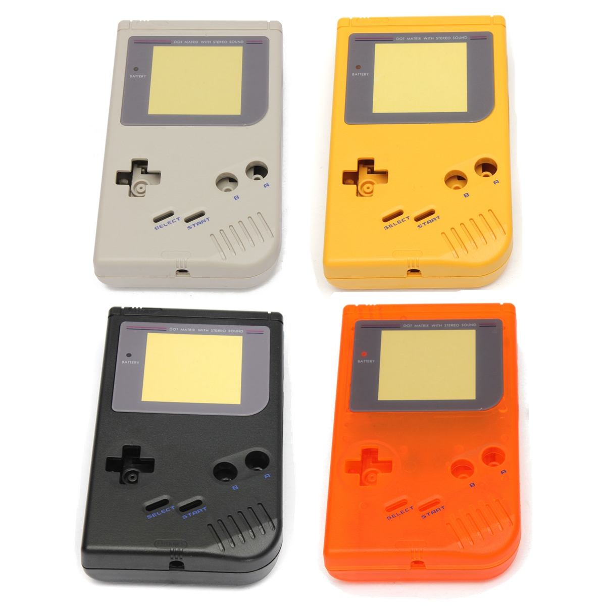 1 Set Full Housing Shell for Game Classic Boy GB DMG Console Full Parts Replacement Housing Shell Cases For GB