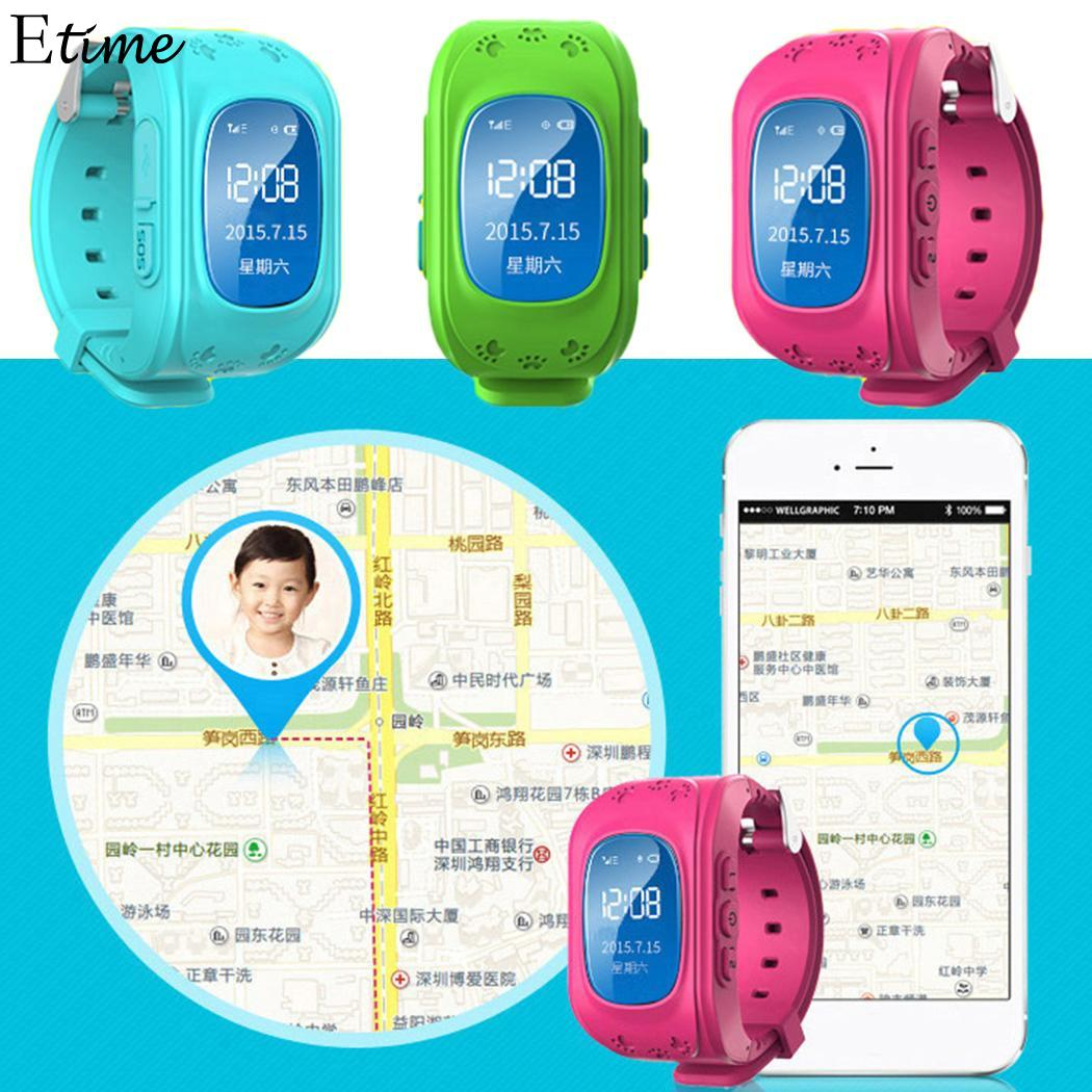 Kids Watches Children Positioning-Watch Phone-Sports Safety Smart Global LBS Lcd-Card
