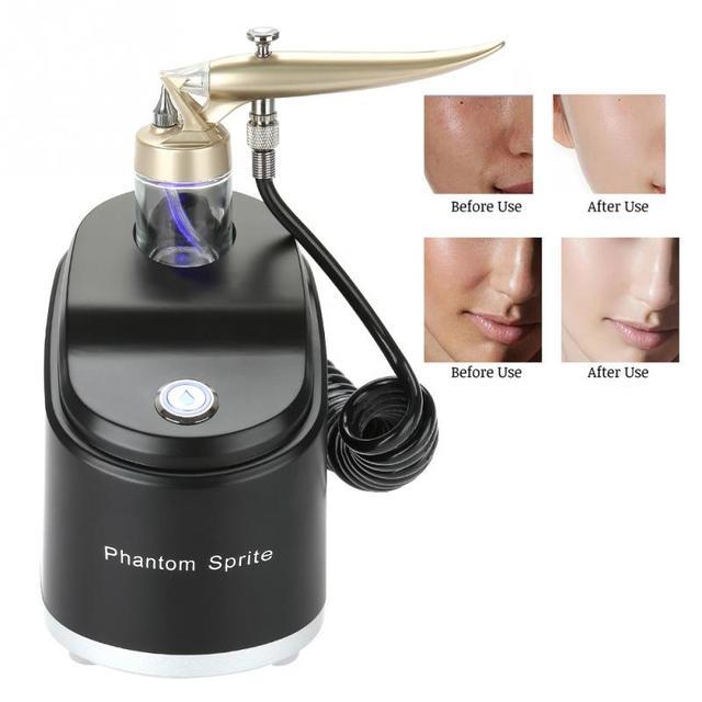 2 Types Facial Anti-aging Skin Micro-nano Moisturizing Oxygen Sprayer Rejuvenation Face Wrinkle Remove Spray Machine face care