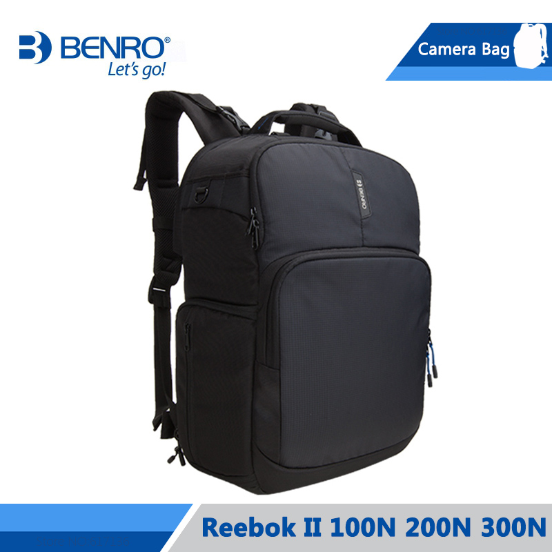 Benro Reebok II 100N 200N 300N Camera Backpack Notebook Video Photo Bags Large Size Soft Bag