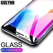 2.5D Tempered Glass for iPhone X 10 7 5 5s SE 6 6s 4 9H Explosion Proof screen protector Film for iphone X Plus 8 XS Cover Case explosion proof tempered glass screen protector guard film for iphone 5 5s transparent