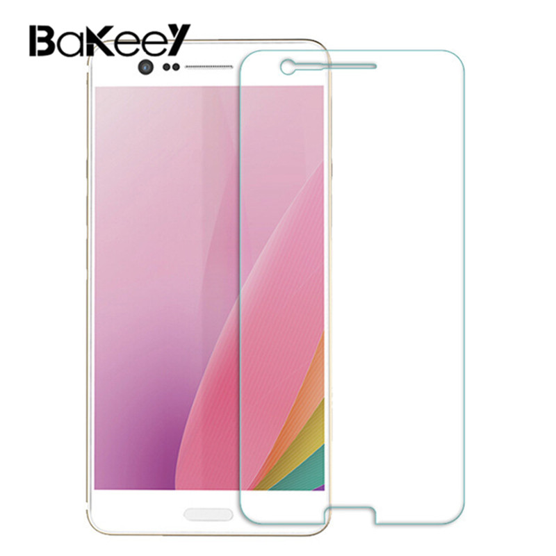 Bakeek 9H Hardness 2.5D Curved Tempered Glass Screen Protector for Sharp Z3 Screen Protector Protective Film Anti-explosion