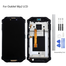 Display Screen Replace for OUKITEL WP2 LCD Touch Screen  6.0 inch black for OUKITEL WP2 LCD Touch Screen LCD Without Frame